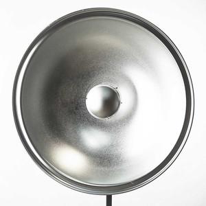 Софтрефлектор 55 см серебряный универсальный c адаптером Bowens Fotokvant SR-550S-BW