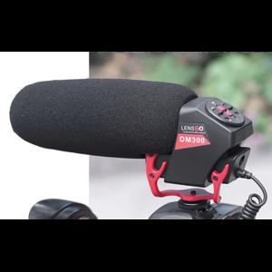 Микрофон пушка кардиоидный для DSLR или смартфонов Lensgo LYM-DM300