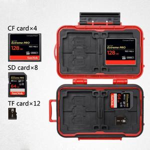 Кейс для карт памяти красный Lynca KH6 Red