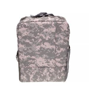 Рюкзак-трансформер для фотоаппарата цвет камуфляж пиксельный Fotokvant Backpack-01 Сamouflage