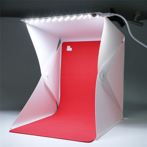 Fotokvant BP-0204 RED фон для фотобокса BOX-22/23 LED красный