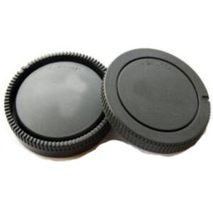 Комплект крышка задняя для объектива и байонета камеры для Sony A-mount Fotokvant CAP-SA-Kit