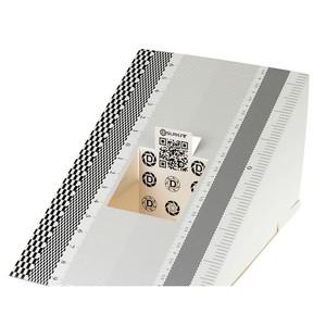 Складная карта для калибровки автофокуса с микрорегулятором диафрагмы Fotokvant FM-01