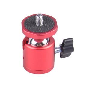 Шаровая голова для мини-штатива красная Fotokvant HB-02 RED