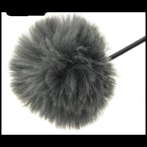 Fotokvant MZ-M Grey меховая ветрозащита для петличного микрофона