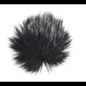 Fotokvant MZ-M Mix меховая ветрозащита для петличного микрофона