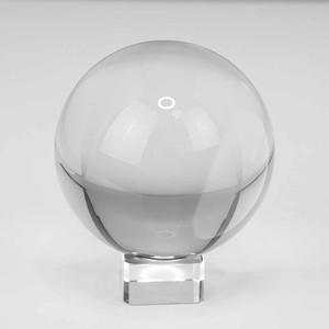 Lensball сфера хрустальная с подставкой 80 мм в подарочной упаковке Fotokvant PRS-002