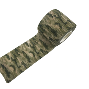 Водонепроницаемая клейкая лента  камуфляжного цвета болотная Fotokvant Tape-12 Khaki