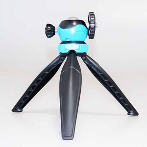 Мини-штатив с шаровой головой Fotokvant TM-08 Blue