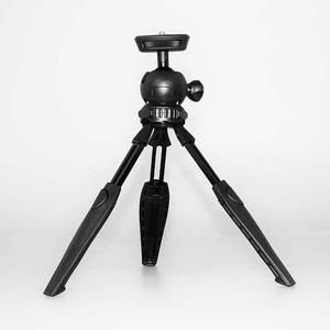 Мини-штатив с шаровой головой с телескопическими ножками Fotokvant TM-09 Black