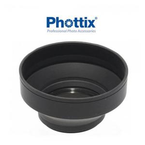 Бленда 77 мм трехступенчатая складная резиновая Phottix (52507)