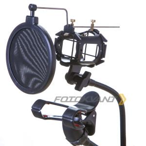 Кронштейн-крепление для микрофона и смартфона Fotokvant LSS-20