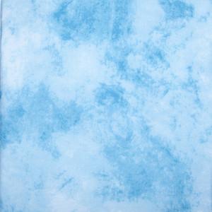 Фон тканевый 3х6м художественный голубой Fotokvant BG-3060TD80