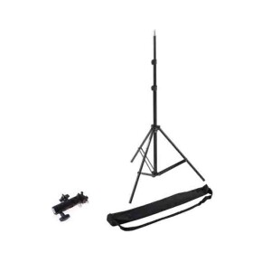 Стойка легкая 210 см с креплением для вспышки и зонта и с чехлом Fotokvant LS-2101B