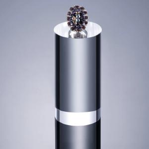 Цилиндр акриловый прозрачный 10 см диаметром 4 см Fotokvant BCY-410