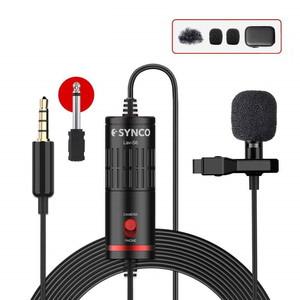 Всенаправленный петличный микрофон для DSLR или смартфонов Synco Lav-S6
