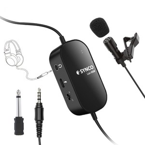 Петличный микрофон для DSLR или смартфонов Synco Lav-S6M