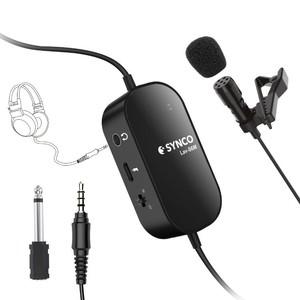 Микрофон петличный всенаправленный для DSLR или смартфонов Synco Lav-S6M