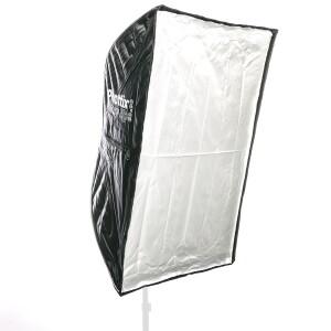 Комплект быстрораскладной софтбокс-зонт серии Easy UP с сотами 60x90 см для накамерных вспышек Phottix HD (82495)