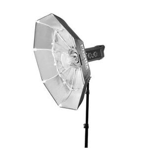 Раскладной софтрефлектор 85 см серебрянный с байонетом Bowens серии Luna Beauty Phottix (82751)