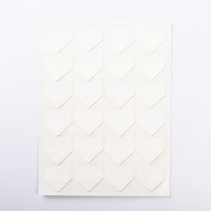 Уголки для фотоальбомов белые Albonny PC-002 White