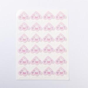 Уголки для фотоальбомов розовый кролик Albonny PC-013 Pink bunny