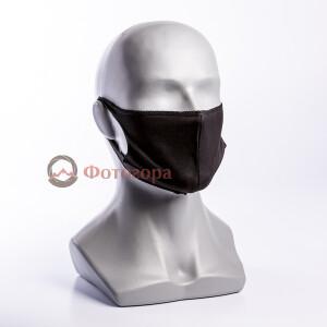 Маска для фотографов черная размер S Fotokvant Mask-S Black