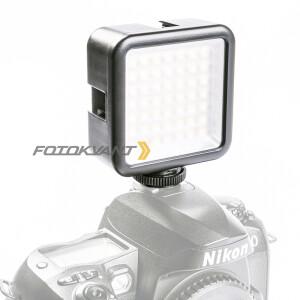 Накамерная светодиодная панель 49 диодов Fotokvant LED-49