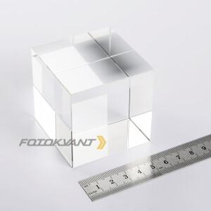 Куб хрустальный 60 мм для спецэффектов Fotokvant PRQ-002