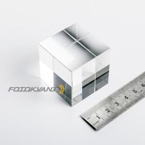 Куб хрустальный 40 мм для спецэффектов Fotokvant PRQ-001
