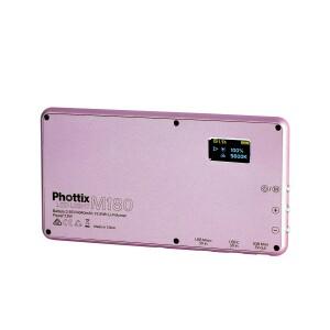 Накамерная светодиодная панель 180 диодов с аккумулятором Phottix (81417) M180 LED