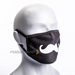 Маска для фотографов усики размер M Fotokvant Mask-04M Whisker