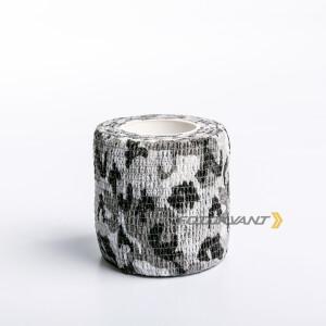 Водонепроницаемая клейкая лента камуфляжного цвета серое и черное Fotokvant Tape-30