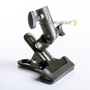 Кронштейн-держатель с прищепкой металлический Fotokvant RCL-S13