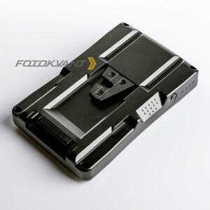 Переходник для аккумуляторов тип NP-F (sony) на тип V- mount Fotokvant F2-BP