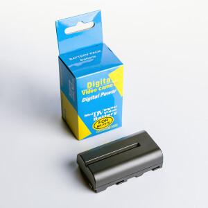 Аккумуляторная батарея ёмкостью 2600 mAh Fotokvant NP-F550/F570