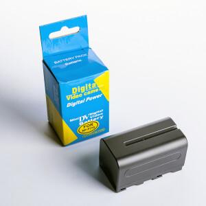 Аккумуляторная батарея ёмкостью 5200 mAh Fotokvant NP-F750/F770