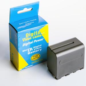 Аккумуляторная батарея ёмкостью 7800 mAh Fotokvant NP-F950/F970