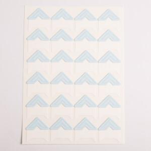 Уголки для фотоальбомов голубые Albonny PC-020 Blue