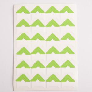 Уголки для фотоальбомов зеленые Albonny PC-022 Green
