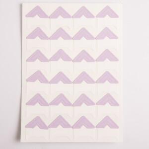 Уголки для фотоальбомов сиреневые Albonny PC-023 Lilac