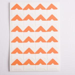 Уголки для фотоальбомов оранжевые Albonny PC-024 Orange