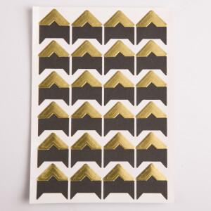 Уголки для фотоальбомов золотые Albonny PC-026 Gold