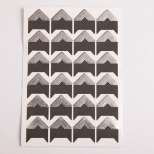 Уголки для фотоальбомов серебряные Albonny PC-027 Silver