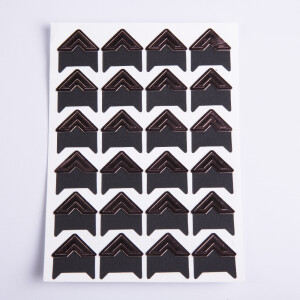 Уголки для фотоальбомов бронзовые Albonny PC-028 Bronze