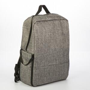 Рюкзак-трансформер для фотоаппарата цвет темно-серый Fotokvant Backpack-01 Dark Grey