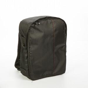 Рюкзак для фототехники цвет черный с красной строчкой Fotokvant GBK-002-BR