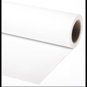 Фон бумажный 1,35x6м цвет белый Vibrantone VBRT1101 White 01