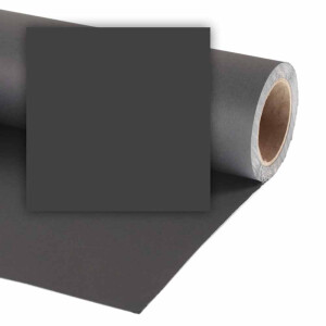 Фон бумажный 2,1x11м цвет черный Vibrantone VBRT2210 Black 10