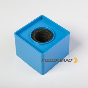 Куб для микрофона голубой Fotokvant MAC-14 Blue
